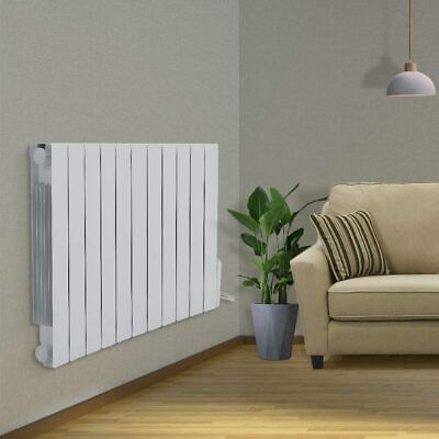 £205.95 • Buy 900-2000W Oil Filled Electric Radiator Wall Mount/Standing Central Heating Panel