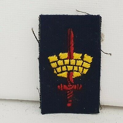 £14 • Buy British Army WW2 London District Formation Sign Patch Embroidered