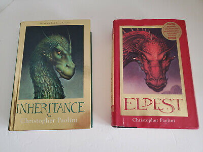 £65.46 • Buy Inheritance Deluxe Edition + Eldest Limited Edition - Christopher Paolini - NICE