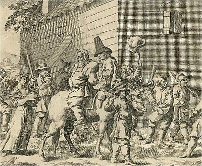 £30.16 • Buy 18th Century Engraving - The Mob