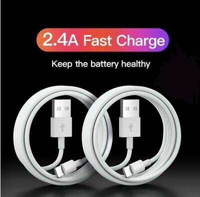 £2.79 • Buy Genuine IPhone Charger For Apple Long Cable USB Lead 5 6 7 8 X XS XR 11 12 Max
