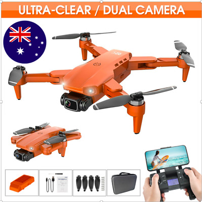 AU133.94 • Buy GPS With 4K HD Dual Camera 5G Wifi FPV Drone RC Quadcopter Brushless Foldable AU