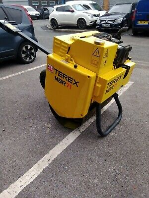 £4250 • Buy **now Sold*** 2016 Roller Terex Tarmac Vibrating Pedestrian Roller And Trailer