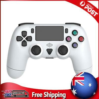 AU40.99 • Buy Wireless Controller For PS4 Pro Slim Dual Motor Vibration 6-Axis Gyro White