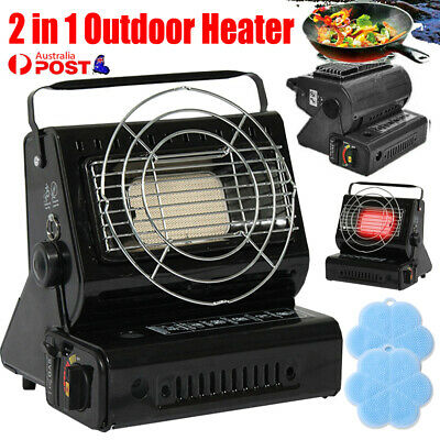 AU39.99 • Buy Portable Butane Gas Heater Camping Camp Tent Outdoor Hiking Camper Survival AU