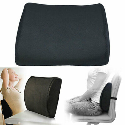 £12.66 • Buy Car Memory Foam Wedge Seat Chair Lumbar Support Pain Height Booster Cushion Back
