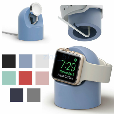 AU19.25 • Buy For Apple Watch 42mm/38mm Silicone Charging Dock Stand Holder Bracelet