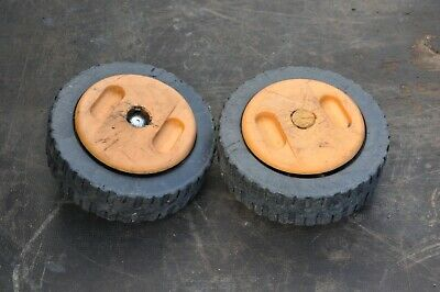 £12.50 • Buy McCulloch Electrolux M3540PD M354OPD Tecumseh Vantage 35 Pair Front Wheels