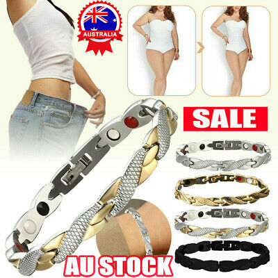 AU8.66 • Buy Elegant Magnetic Therapy Fit Plus Bracelet For Women Slimming Health Gifts TK