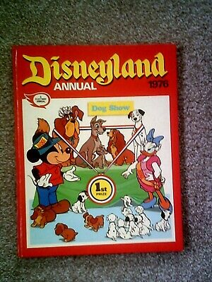 £9.99 • Buy The Disneyland Annual 1976 Published 1975 Vintage Children's Book By Fleetway