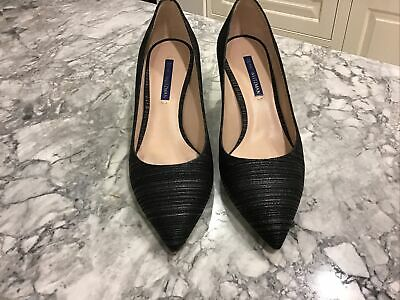 £59 • Buy Stuart Weitzman Black And Silver Brand New Court Shoes 39  UK 6 US 8