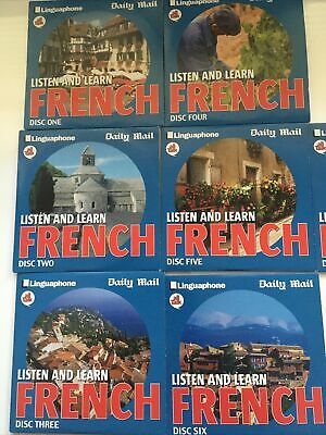 £6 • Buy Daily Mail Listen And Learn French X 7 Discs (discs 1-7) All Talk - Linguaphone