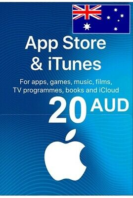 AU35.58 • Buy APP Store ITunes Australia Gift  20AUD Email Delivery