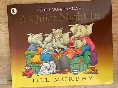 £1.99 • Buy The Large Family - A Quiet Night In - Kids Book