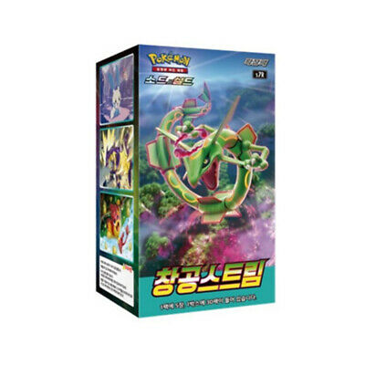 $35.25 • Buy POKEMON Cards Blue Sky Stream Expansion Booster Pack Korean Version⭐Tacking⭐