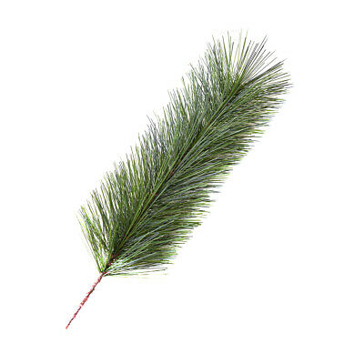 £4.69 • Buy Leaves Needle Artificial Pine Branches Green Garland HomeDecor27cm5pc