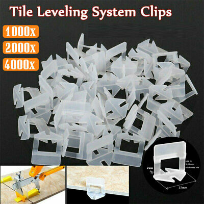 £14.99 • Buy 4000x Tile Leveling Spacer System Tool Clips Wedges Flooring Lippage Plier 2MM