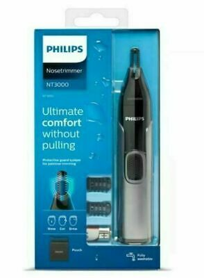 AU25.75 • Buy PHILIPS Nose Ear And Brow Trimmer NT3000 FULLY WASHABLE NT3650/16 BRAND NEW