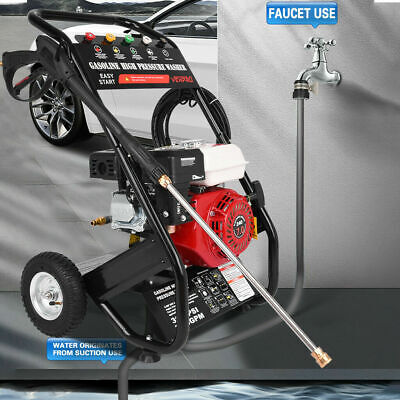 £199 • Buy Petrol Power  Jet Washer 3000PSI 6.5HP Engine With Gun Hose UK 1 ONLY £199