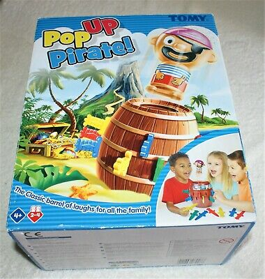 £9.99 • Buy TOMY Pop Up Pirate Classic Children's Game Used But Nice For The Kids