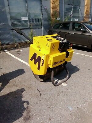 £5250 • Buy **now Sold**2017 Roller Mecalac Tarmac Vibrating Pedestrian Roller And Trailer