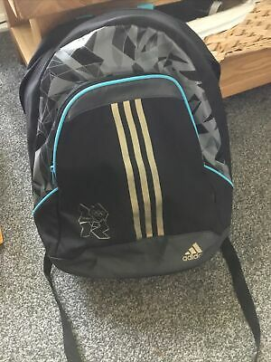 £18 • Buy Adidas London 2012 Olympics Rucksack Bag Excellent Condition