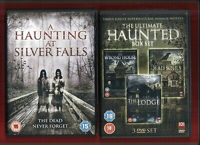 £6.99 • Buy  4 Dvds  - A Haunting At Silver Falls - Dead Souls -the Lodge - The Wrong House