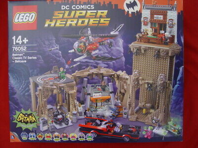 £244.89 • Buy LEGO 76052 BATMAN CLASSIC TV SERIES BATCAVE - NEW & SEALED RETIRED (see My Items