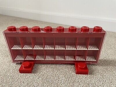 £19.99 • Buy LEGO Mini Figure Display Case - Red - Excellent Condition - Rare Retired
