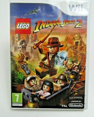 £5.99 • Buy LEGO Indiana Jones 2: The Adventure Continues Wii Game Free P&P
