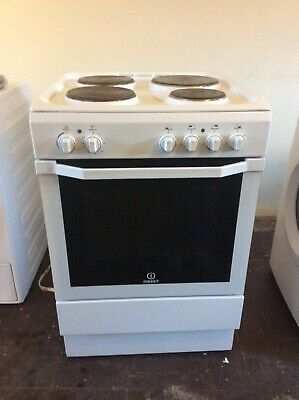 £100 • Buy Indesit Electric Cooker Solid Hot Plates, grill, Fan Oven
