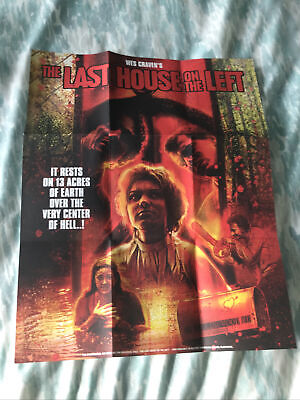 £9.99 • Buy THE LAST HOUSE ON THE LEFT POSTER  From Arrow Video Special Edition No DISK