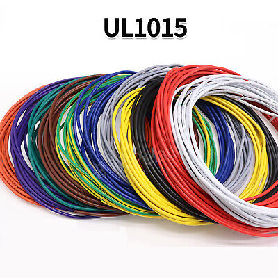 £5.29 • Buy 22AWG PVC Electronic Cable Tinned Copper Stranded Wiring 600V High TEMP 105℃