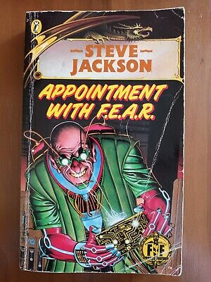 AU25.94 • Buy Appointment With F.E.A.R. * Fighting Fantasy Jackson  * Book 17 * Bronze Dragon