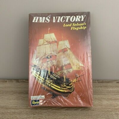 £22.49 • Buy Revell HMS Victory Lord Nelson's Flagship Model Kit Vintage Sealed 1972