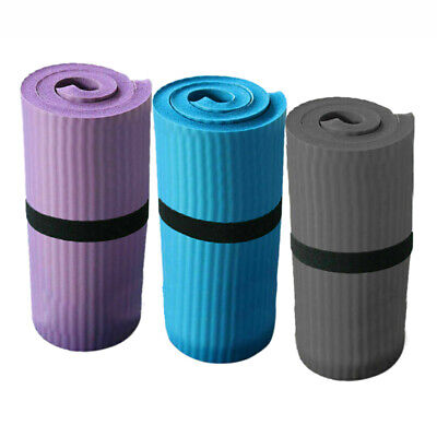 AU14.53 • Buy Yoga Pilates Mat Thick Exercise Gym Non-Slip Workout 15mm Fitness Mats*durable