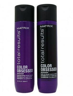 £14.54 • Buy Matrix Total Results Color Obsessed Shampoo & Conditioner 10.1 Oz 2 Pack New