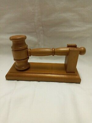 £32 • Buy Gavel With Stand