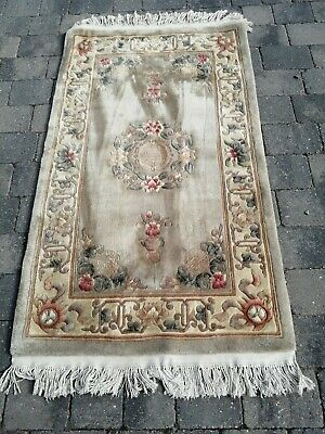 £35 • Buy Chinese Wool Area Rug Heavy 36x60