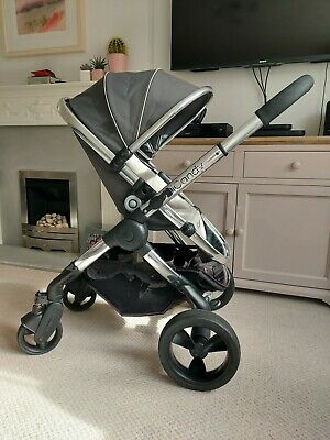 £175 • Buy ICandy Peach 3 Truffle Grey Pushchair Chrome Travel System Compatible *Can Post*