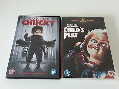 £1.50 • Buy Childs Play & Cult Of Chucky DVDs In Used Condition.