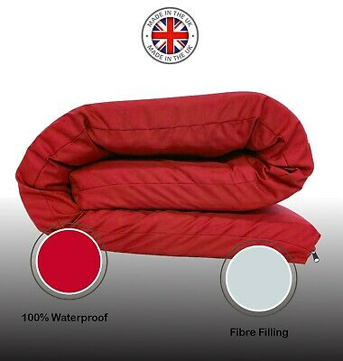 £83.97 • Buy Futon Waterproof Mattress Roll Out Guest Sleep Over Bed Multi Layered Tufted