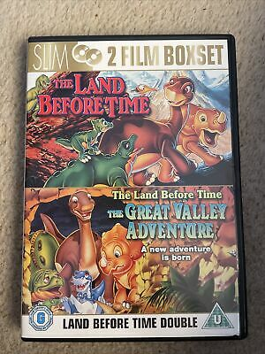 £0.99 • Buy The Land Before Time/The Land Before Time 2 DVD (2007) Don Bluth Cert U 2 Discs