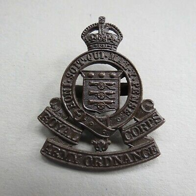 £2.50 • Buy Military Bronze Office Badge The Royal Army Ordnance Corps British Army