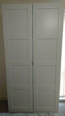 £37 • Buy Ikea Pax Wardrobe With Doors On Soft-close Hinges - 100x35x201cm