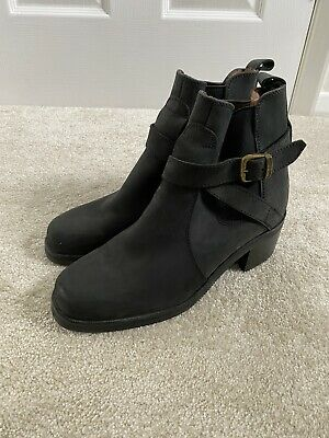 £28 • Buy Russell And Bromley Dark Grey Boots Size 6 39 Autumn Ankle Chelsea Leather