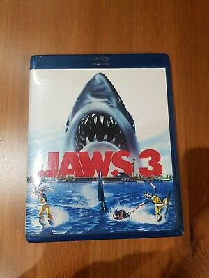 £4.50 • Buy Jaws 3 Blu Ray With 3d Feature