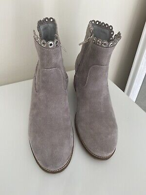 £30 • Buy Daniel Women's Grey Ankle Boots With Concealed Wedge Size 6 39 New With Box
