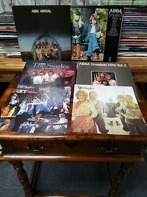 £18 • Buy Abba Collection Job Lot Albums 12  LP Vinyl 5 Record Greatest Hits Inc Posters