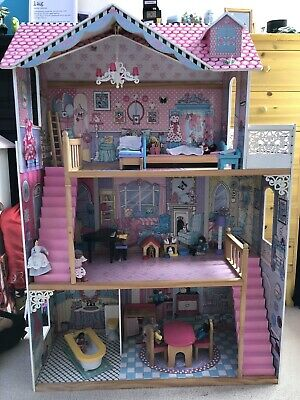 £25 • Buy ELC Large Dolls House With Figures And Furniture